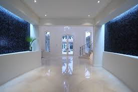 Foyer Floor Designs Entry Contemporary With Mosaic Tiles Recessed Lighting Wall
