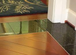Vinyl Tile To Carpet Transition Strips by Brilliant Hardwood Floor To Tile Transition Ideas 640 X