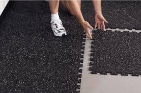 rubber floor tiles kitchen