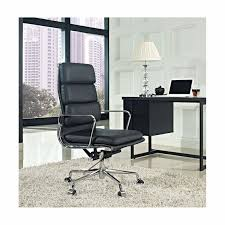 soft padded high back office chair