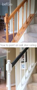Painting Stairs Black – Alternatux.com Tda Decorating And Design Diy Stair Banister Tutorial Part 1 Fishing Our Railings More Peeks At Our Almostfinished Best 25 Black Banister Ideas On Pinterest Painted Modern Stair Railing Spindle Replacement Replacing Wooden Balusters Remodelaholic Makeover Using Gel Stain Chic A Shoestring Decorating How To Building Wood Railing Loccie Better Homes Gardens Ideas Iron Baluster Store Oak Makeover Using Gel Stain Semidomesticated Mama 30 Handrail For Interiors Stairs