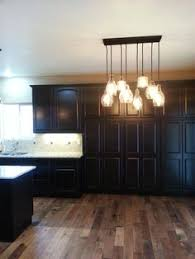 Java Cabinets With Light Granite Birch Floors Pottery Barn Lights