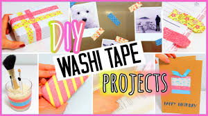 Halloween Washi Tape Ideas by 7 Diy Washi Tape Projects You Need To Try Easy Youtube