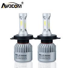 h4 h7 s2 led car headlight bulb cob h11 h1 h13 h3 9004 9005 9006