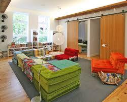 Mah Jong Modular Sofa by Mah Jong Sofa Family Room Eclectic With Barnwood Bench Storage