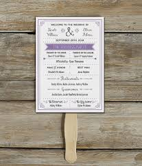 Free Printable Diy Vintage Rustic Wedding Program Template