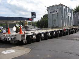 Count The Wheels Under This Heavy-Haul Trailer! - Trailer Talk ...