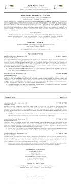 Resume Of Lecturer Sample Junior It For