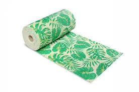weichschaummatte blattmuster grün 65x140 cm badteppich antirutschmatte meterware