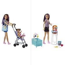 Barbie Babysitter Playset Assorted BIG W