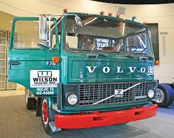 100 Wilson Trucking Company First Dublinmade Volvo Truck Back Home The Southwest Times
