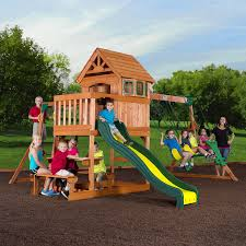 Amazon.com: Backyard Discovery Springboro All Cedar Wood Playset ... Outdoors Gorilla Swing Sets Playsets Sears Backyard Discovery Weston All Cedar Playset The Home Depot Image Srtspower Timber Play Ii With Balcony Set Amazing For Cool Kids Playground Ideas Ii Playtime Fun For From Somerset Manual Outdoor Decoration Safari Images Wood Pictures Mesmerizing Nice Dazzling Design Of