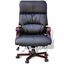 fauteuil pour bureau fauteuil de bureau massant électrique noir pour chaises a 354 13