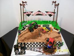 99 Monster Truck Party Favors S Birthday Awful Cake Cakes Ideas