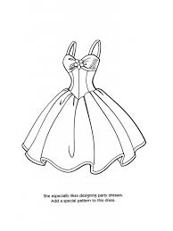 Coloring Pages Of Pretty Dresses Oloring For All Ages Intended