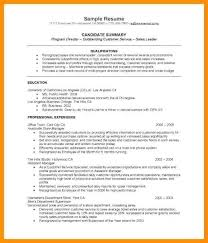 Resume Examples For Recent College Graduates Example
