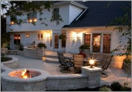 paver patio designs with hot tub Paver Patio Ideas from Concrete