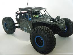 Losi Rock Rey Carbon Fiber Body Set With Led Lights By Final ...