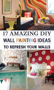 Amazing DIY Wall Painting Ideas To Refresh Your Walls