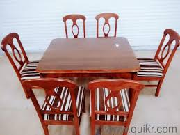 8 Sheesham Wood Dining Table