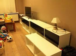 Ikea Besta Burs Desk Black by Besta Depth Adapted With Updates On Ventilation Ikea Hackers