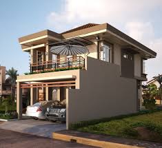 Simple Design Of House Balcony Ideas by Two Storey Houses With Small Balcony Amazing Architecture