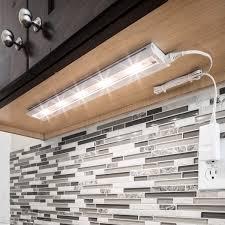 aztec lighting white led 18 inch undercabinet light metal