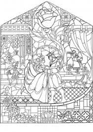 Coloring Adult Prince Princess Art Nouveau Style
