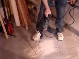 Quickie In The Bathroom by Basement Bathroom 3 Electric Jack Hammer Drill Cement Floor Youtube