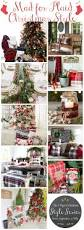 Rustic Christmas Bathroom Sets by Classic Red U0026 White Christmas Style Series Diys Inspiration And
