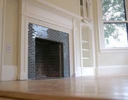 how to tile a brick fireplace curbly