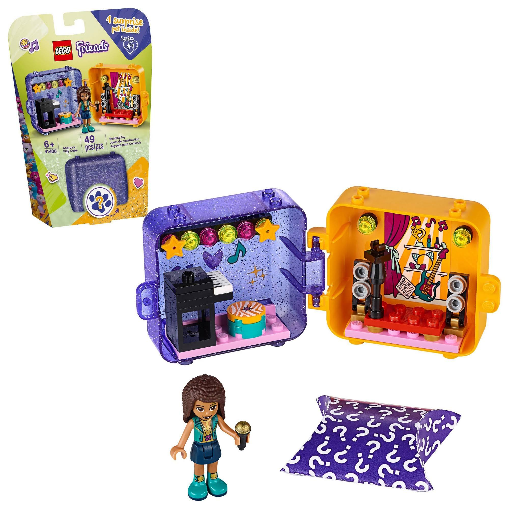 Lego Friends Andrea's Play Cube 41400 Building Kit