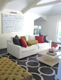 Chain Link Rug Contemporary living room Zoldan Interiors
