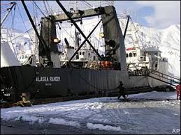 Deadliest Catch Boat Sinks by Kennebec Captain The Alaska Ranger Shitty Job Shitty Boat