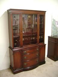 Baker Breakfront China Cabinet by J B Van Sciver Co Collectors China Cabinet 1940 U0027s No 515 Lot 42