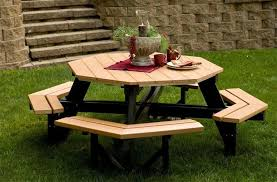 picnic table plans free separate benches woodworking final projects
