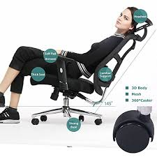 Top 10 Best fice Chairs for Back and Neck Pain with parisons 2018