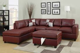 Poundex 3pc Sectional Sofa Set by A M B Furniture U0026 Design Living Room Furniture Sofas And