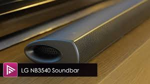 LG NB3540 Soundbar Review - YouTube Lg Sj8 Save Up To 100 On The Today Usa Vizio Sb4051 Sound Bar Review The 13 Best Soundbars Of 2017 Boost Your Tv Audio Expert Reviews Best Techhive Buy Las355b Bluetooth Soundbar With Wired Subwoofer Online At Rca 37 Walmartcom Four Ways Add Great Your Top 5 Bars Tv Youtube Energy Soundbars Powerbar 10 You Can Digital Trends