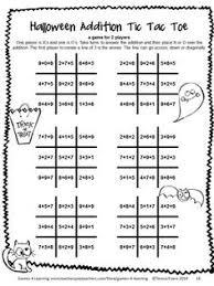 Halloween Multiplication Worksheets Coloring by Halloween Math Games Third Grade Fun Halloween Activities