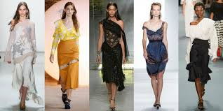 OUR FAVOURITE SPRING SUMMER 2017 TRENDS