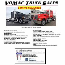2018 Models With EPA17 Technology...here... - Vomac Truck Sales Of ... Truk Kargo Wingbox Hino Fm 260 Jw Sales Truck Dan Bus Jt Motors Limited Used Tractor Units For Sale Uk Man Volvo Daf Erf More Trucks For Sale Walker Movements Competitors Revenue And Employees Owler Company Oilfield World Sales In Brookshire Tx Launches New Truck 380 84 Cstruction Segment Dealers Knoxville Tn Pickup On Icc 2007 Chevrolet 2500 4x4 St Cloud Mn Northstar Wrighttruck Quality Iependant 2006 Mitsibushi Fuso 14213 Dropside 8ton Junk Mail