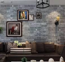 tapete mauer hintergrund wand papier grau für wohnzimmer 3d stein tapete moderne wandverkleidung pvc tapeten