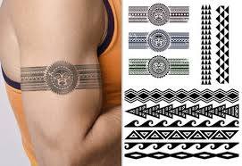 Hawaiian And Polynesian Armband Tattoos Relate To The Traditions Of Hawaii Polynesia Are Becoming Extremely Popular Day By