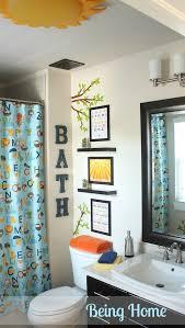 Camo Bathroom Decor Ideas by Boy Bathroom Best 25 Boy Bathroom Ideas On Pinterest Kid Bathroom