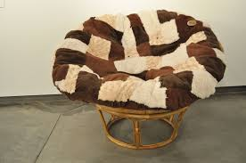 Oversized Papasan Chair Cushion by Furniture Colorful Papasan Cushion Ikea With Yellow Chair For