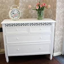 Blanche Range White 2 Over 2 Chest of Drawers Melody Maison
