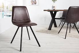 retro stuhl amsterdam chair antik braun designklassiker riess ambiente de