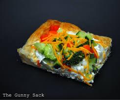 Puff Pastry Veggie Pizza The Gunny Sack