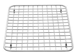 amazon com interdesign gia kitchen sink protector wire grid mat